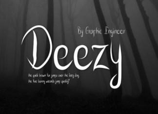 Deezy Font