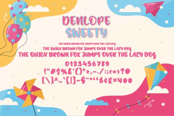 Denlope Sweety Font