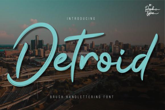 Detroid Font