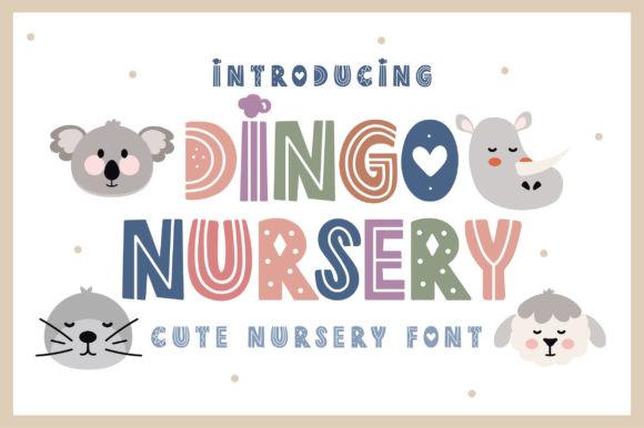 Dingo Nursery Font