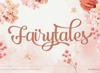 Fairytales Font
