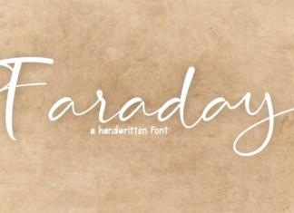 Faraday Font