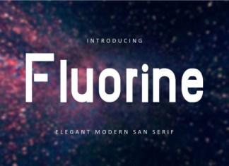 Fluorine Font