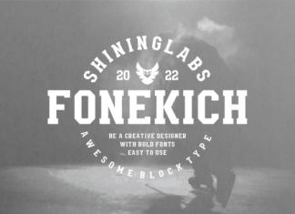 Fonekich Font