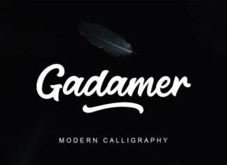 Gadamer Font