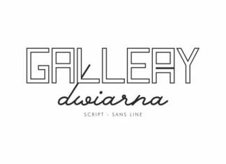 Gallery Dwiarna Font