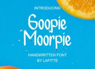 Geopie Moorpie Font