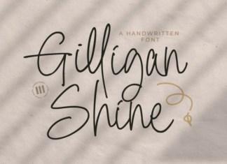 Gilligan Shine Font