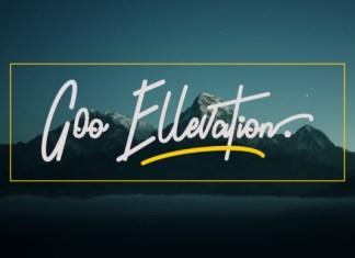 Goo Ellevation Font