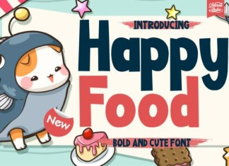 Happy Food Font