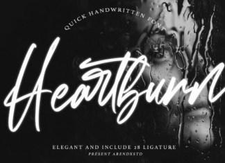 Heartburn Font
