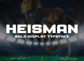 Heisman Font