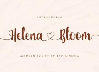 Helena Bloom Font