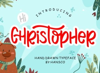 Hi Christopher Font