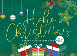 Hoho Christmas Font