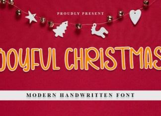 Joyful Christmas Font