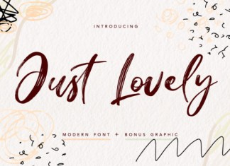 Just Lovely Font