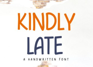 Kindly Late Font