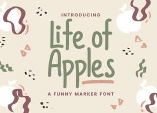 Life of Apples Font