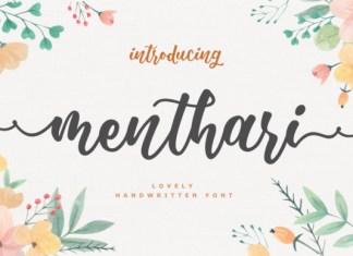 Menthari Font