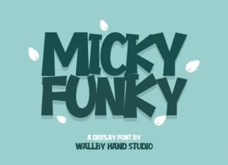 Micky Funky Font