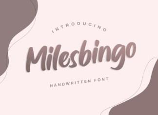 Milesbingo Font