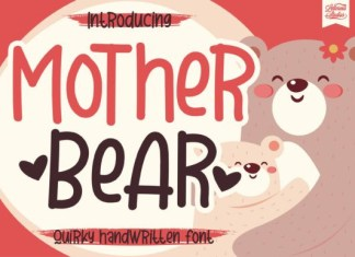 Mother Bear Font