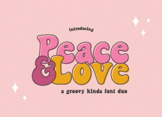 Peace and Love Font
