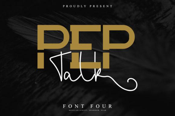 Pep Talk Font
