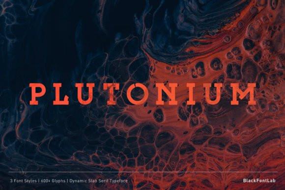 Plutonium Font