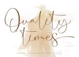 Quality Times Font