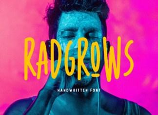 Radgrows Font