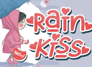 Rain Kiss Font