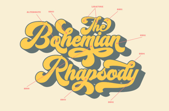 The Rhapsody Font