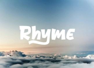 Rhyme Font