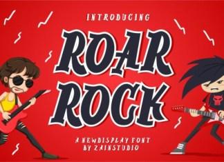 Roar Rock Font