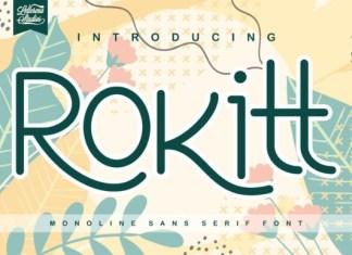 Rokitt Font