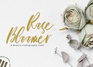 Roses Bloomer Font