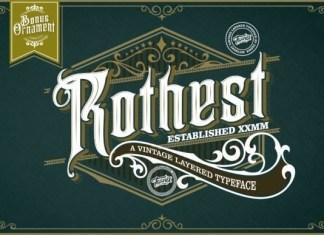 Rothest Font