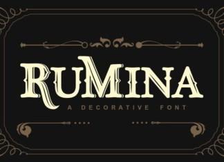 Rumina Font