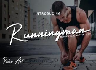 Runningman Font
