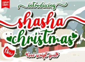 Shasha Christmas Font