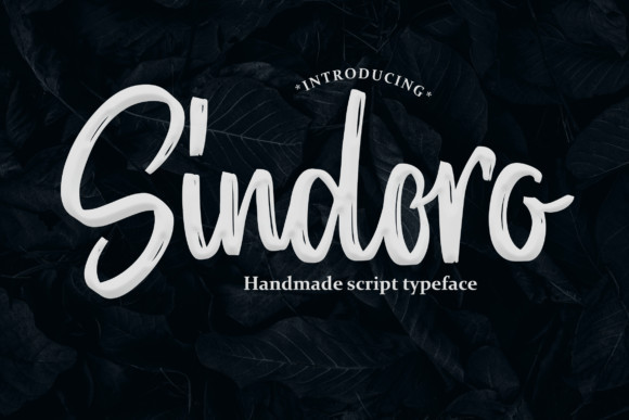 Sindoro Font