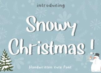Snowy Christmas Font