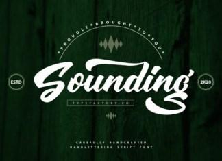 Sounding Font