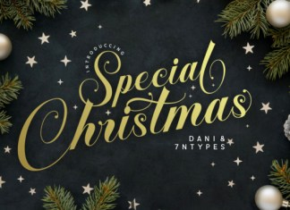 Special Christmas Font