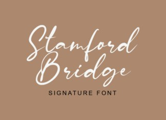 Stamford Bridge Font