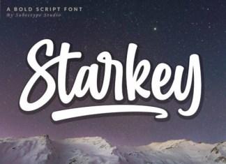 Starkey Font