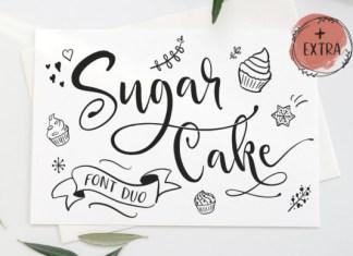 Sugar Cake Font