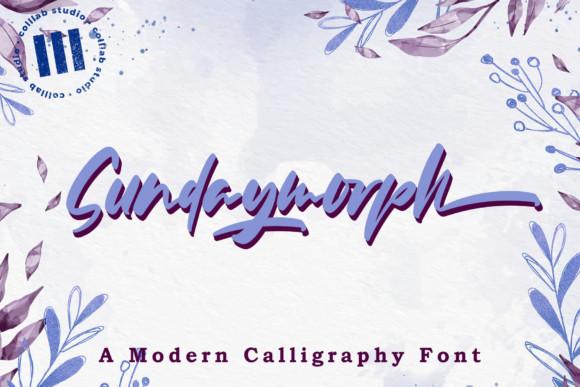Sundaymorph Font
